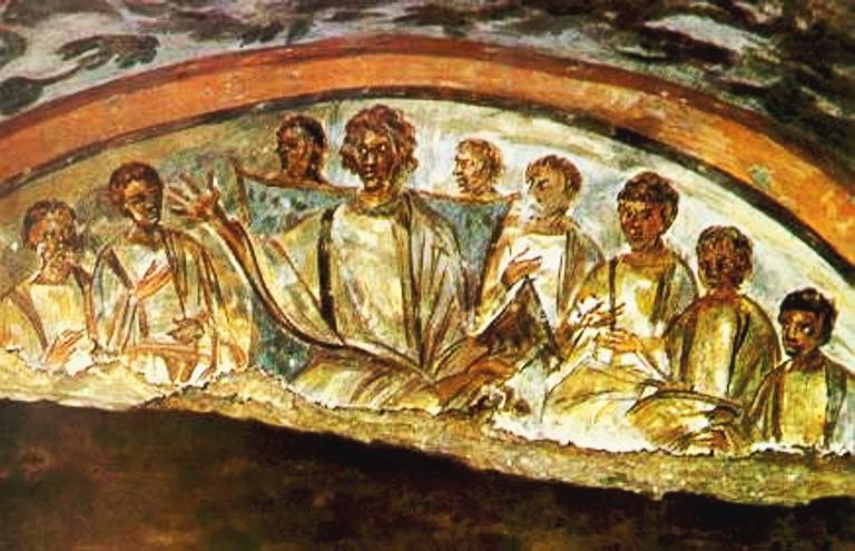 Rome catacombs 33