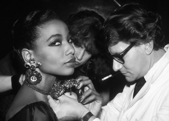 A Few Classic YVES SAINT LAURENT Runway Shows