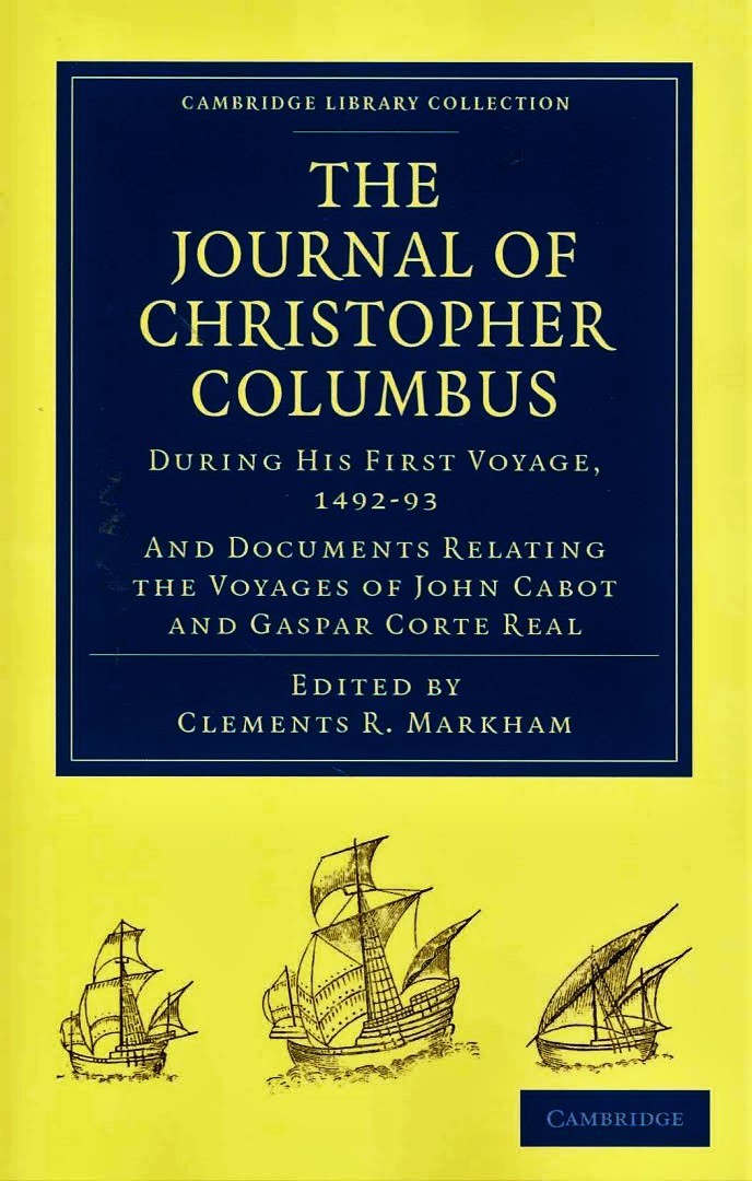 analysis of columbus letter of his first voyage