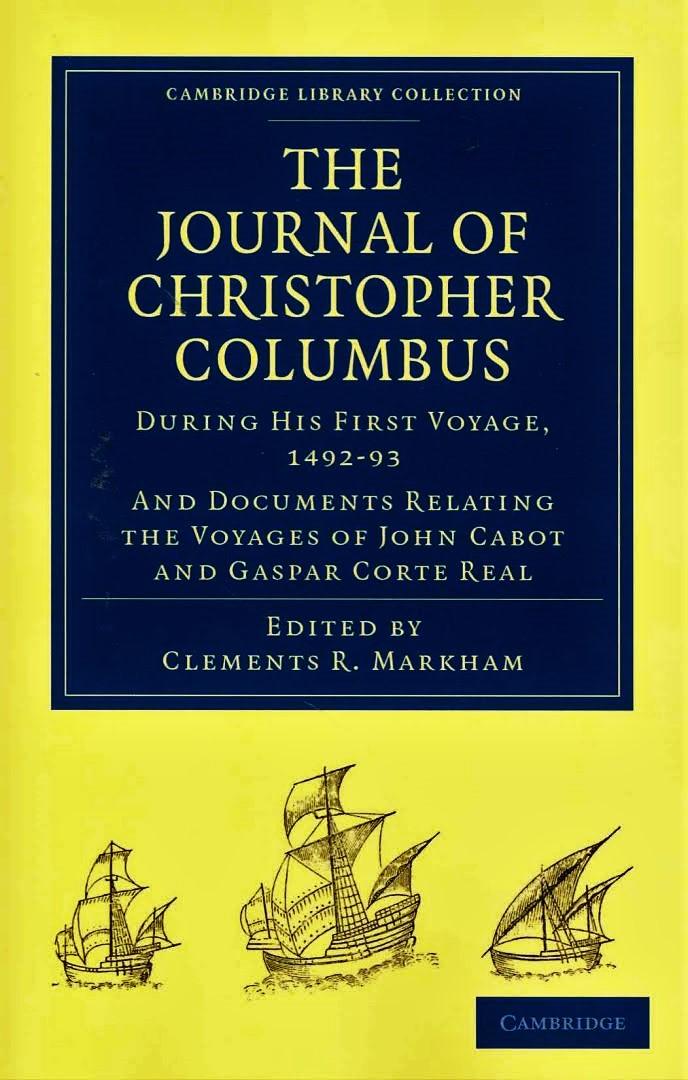 christopher columbus diary