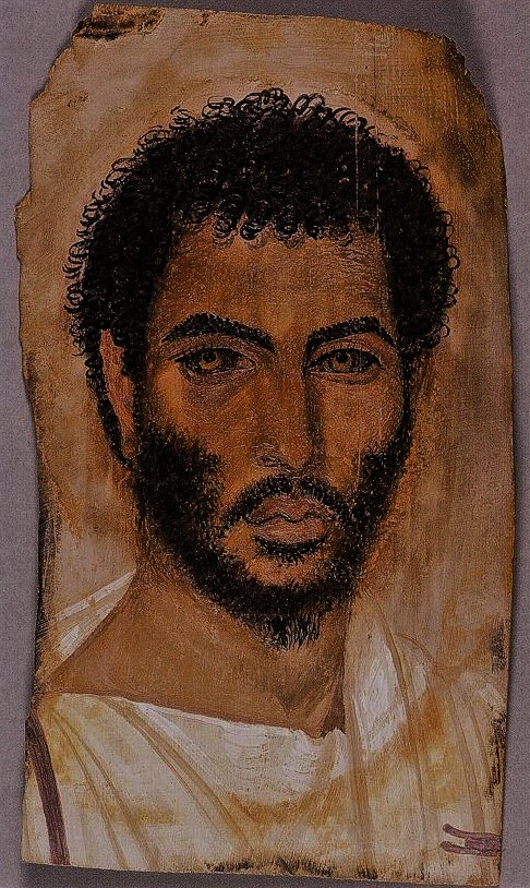 Ancient Faces: Romano-Egyptian Mummy Portrait of a Bearded Man