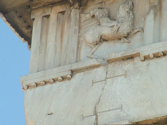 Acropolis keystone cuts