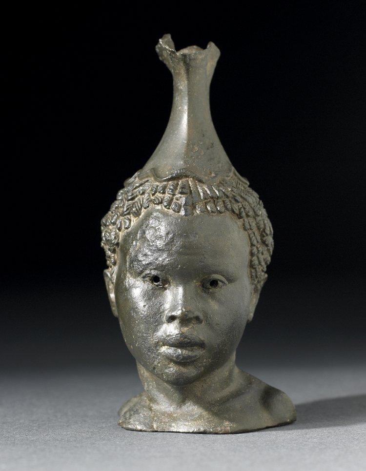 African girl in Greece memnon