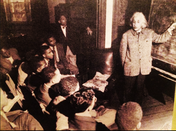 Albert Einstein Teaching Physics
