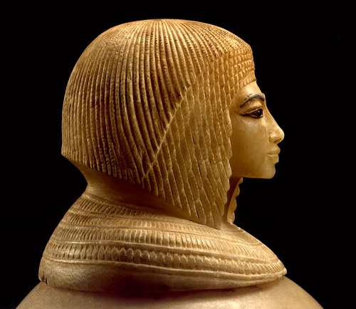 Ancient Egyptian wig 001