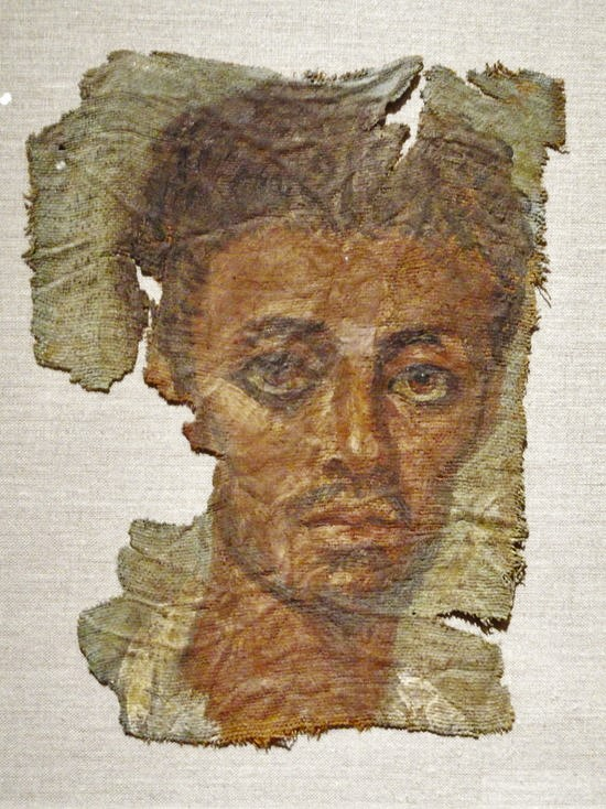 Ancient Faces: Another Mummy Portrait From Egypt, Africa