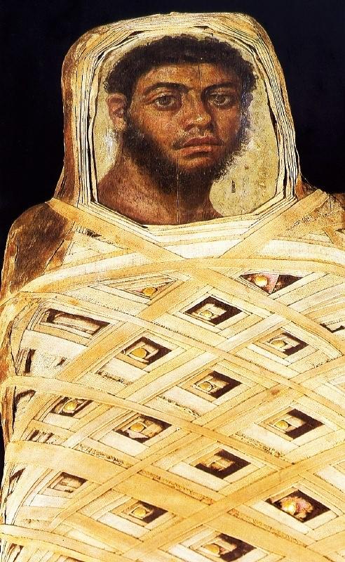 Fayum portrait of a man 00