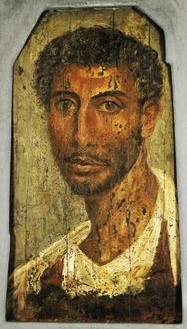 Fayum portrait of a man 03