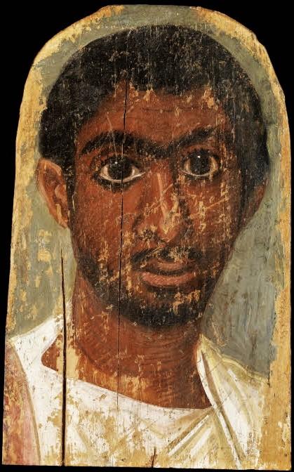 Fayum portrait of a man 04