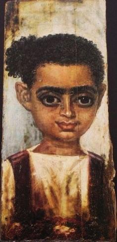 Fayum portrait of a man 05