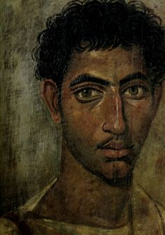 Fayum portrait of a man 06