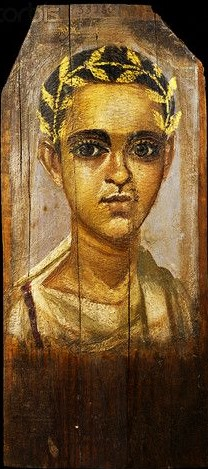 Fayum portrait of a man 07
