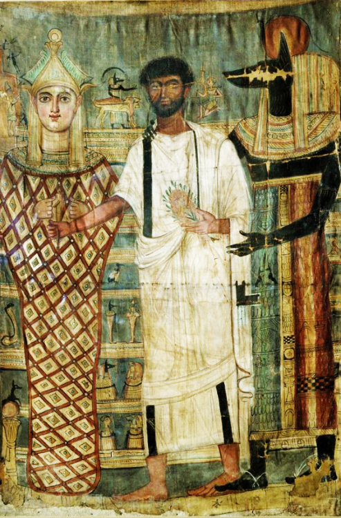 Fayum portrait of a man 09