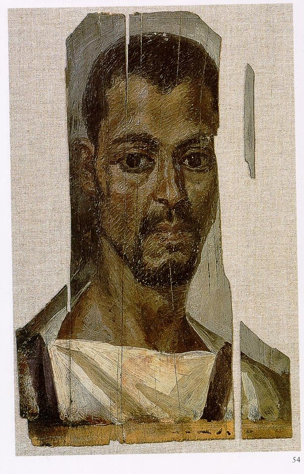 Ancient Faces: Egyptian Portrait Of A Man