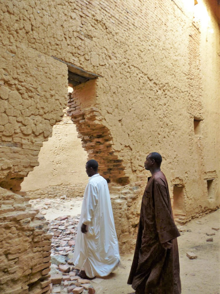 16th century ancient ruins of Ouara in Chad, Africa