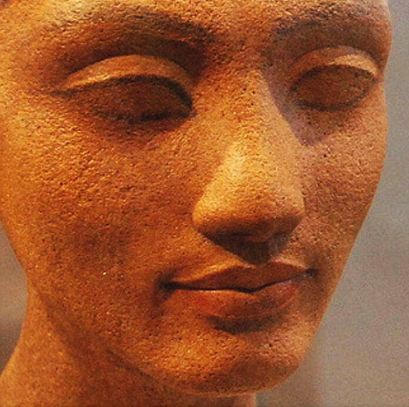 Head of a Statue of a Queen