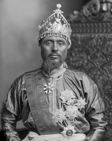 Ethiopian King Ras Mäkonnen