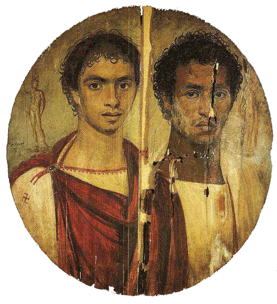 Tondo of the two brothers by Timarchos