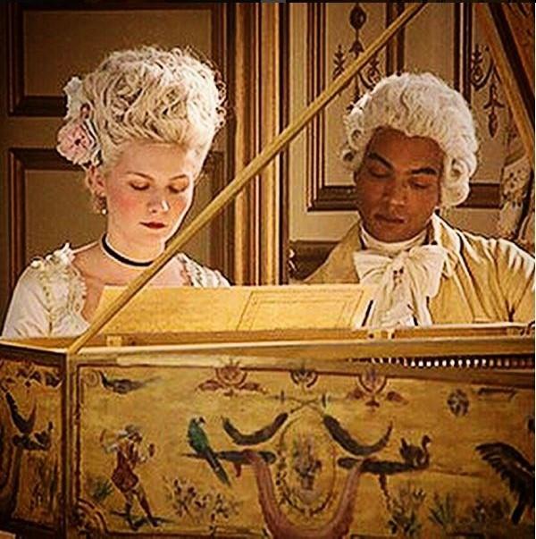 Marie Antoinette & Her Music Tutor Joseph Boulogne Of African Ancestry