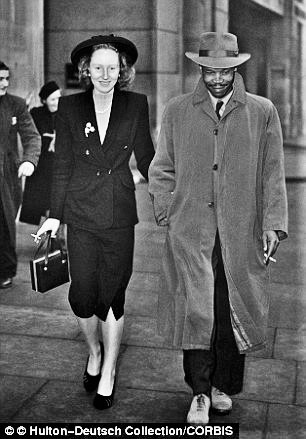 Seretse Khama & Ruth Williams
