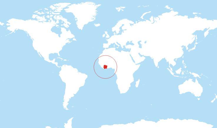 ivory-coast-world-map