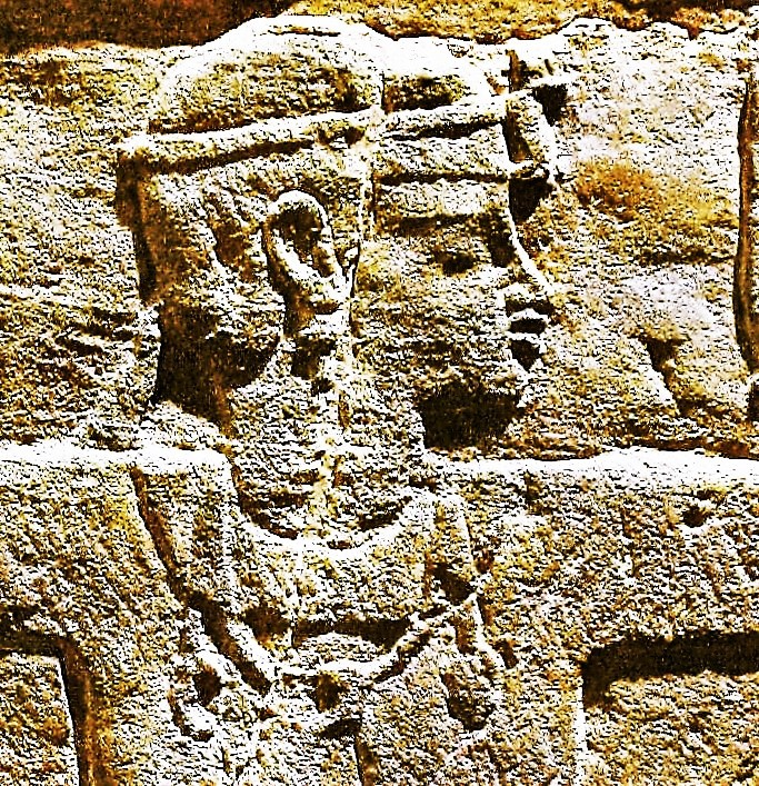 Relief of a female ruler, a Candace of Meroë named Kandake Amanitore.