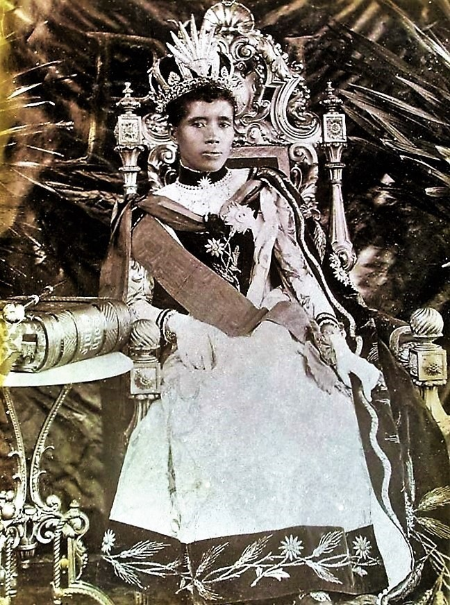 Queen Ranavalona III the last sovereign of the Kingdom of Madagascar