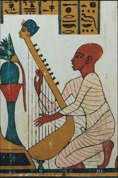 egyptian-man-playing-the-harp
