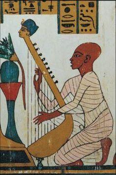 egyptian-man-playing-the-harp
