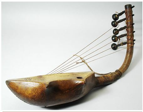 zande-bow-harp-south-sudan