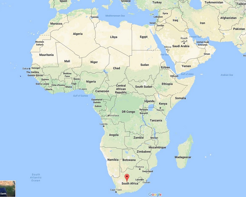 south-africa-world-map-on-google
