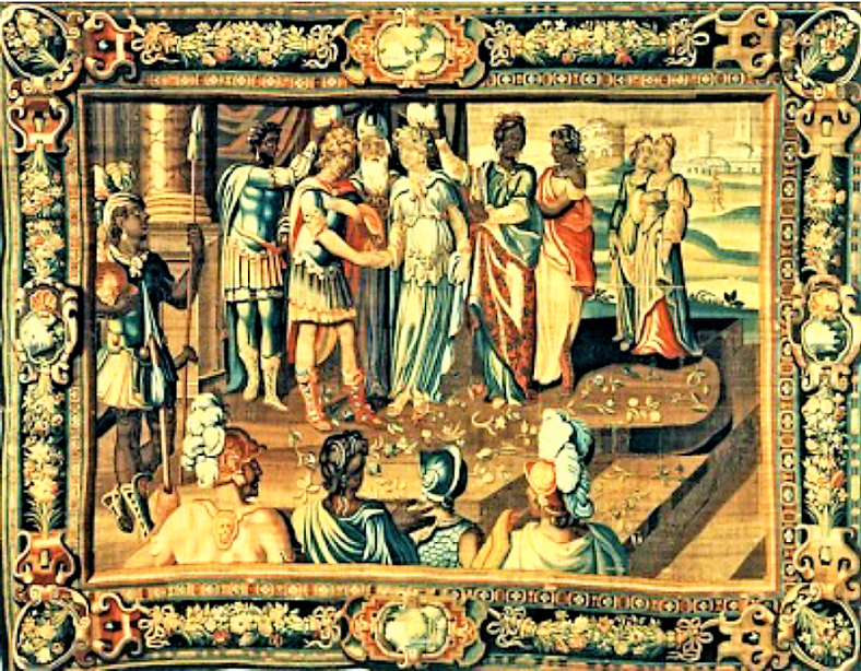 The Marriage of Theagenes & Charicleia Tapestry – Flanders/France (ca. 1620)