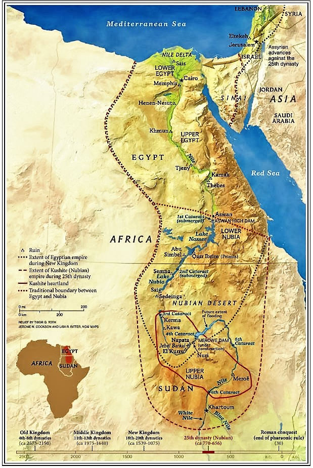 Science Fiction Fantasy Art Of Ancient Egypt III To Inspire - Map of egypt nubia
