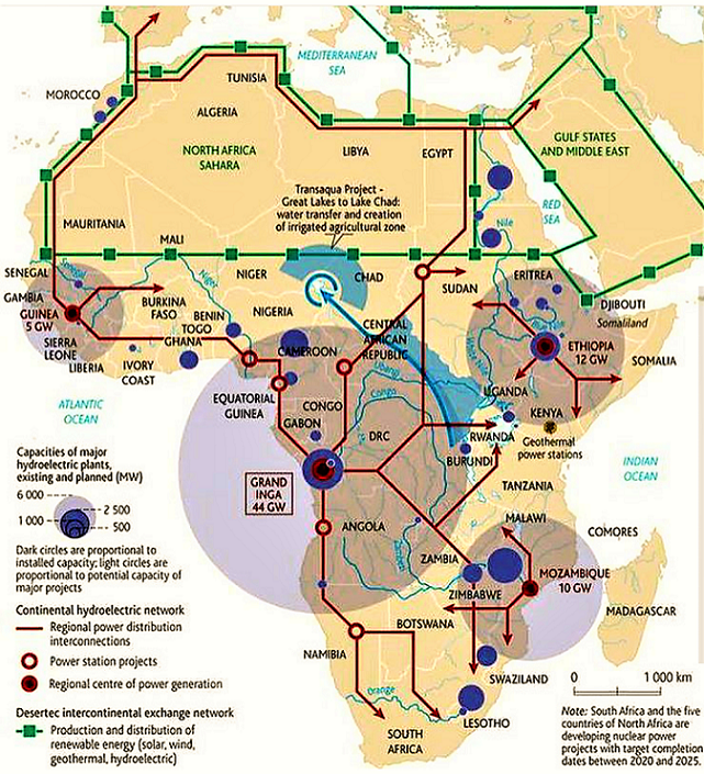 African nations will interconnect power grids by 2020