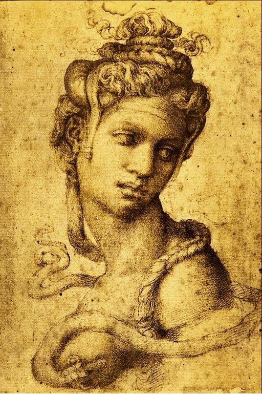 Michelangelo's Image of Cleopatra