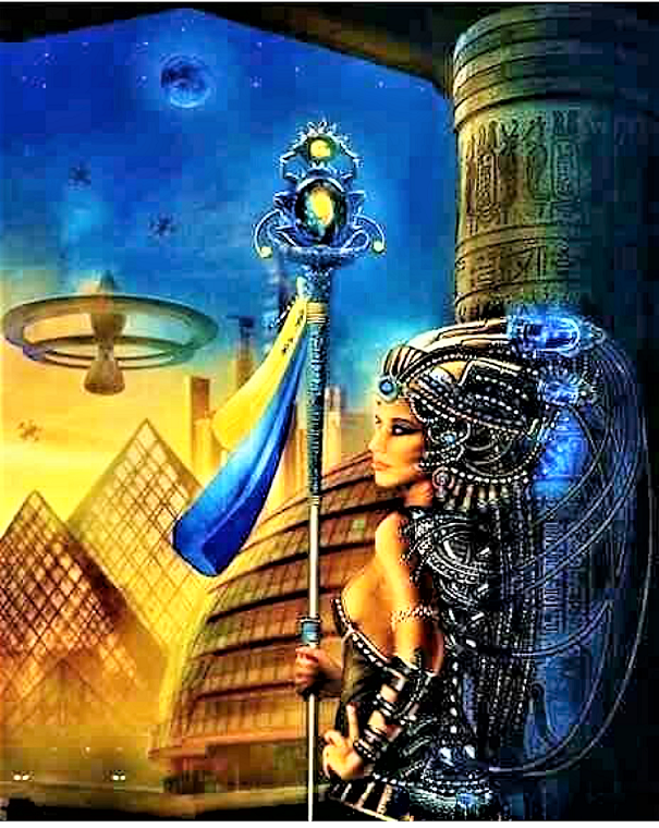 Science Fiction& Fantasy Art of Ancient Egypt III to inspire | Sola Rey