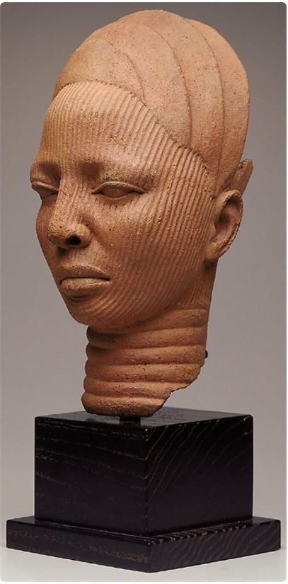 Shrine Head from Nigeria, West Africa