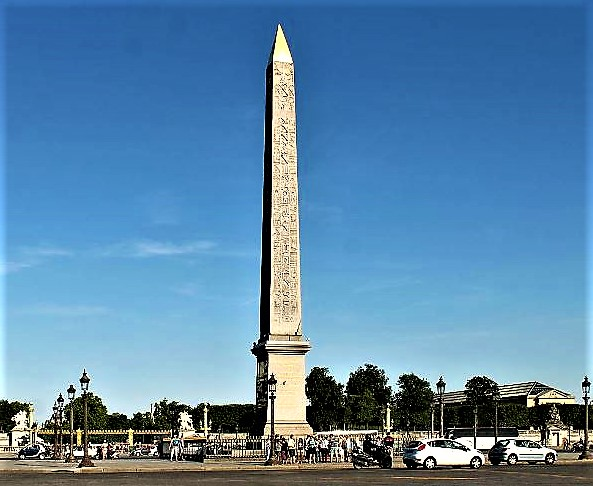Luxor Obelisk in Paris, France?