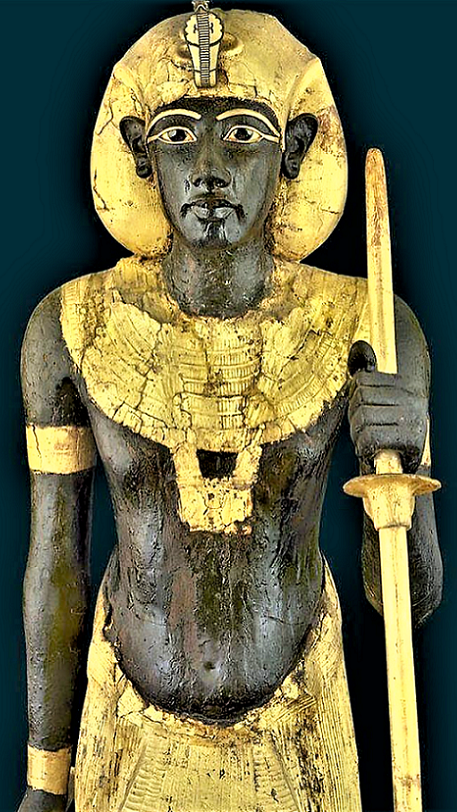 King Tut's Life Size Guard Statue