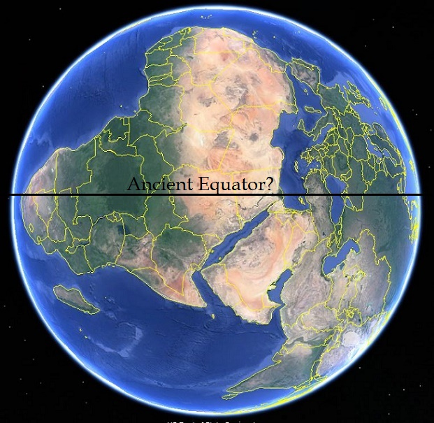 Controversial theory of ancient earths equator sola rey this is about 250 miles northeast of the axis point for the line of ancient sites at 59 42 n 139 17 w it is interesting to note that some of the gumiabroncs Gallery