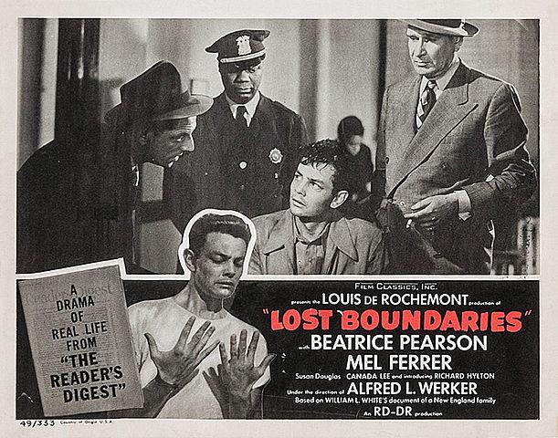 Movie: Lost Boundaries