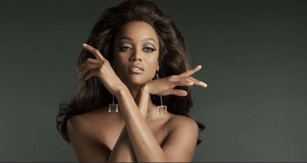 Model: Tyra Banks