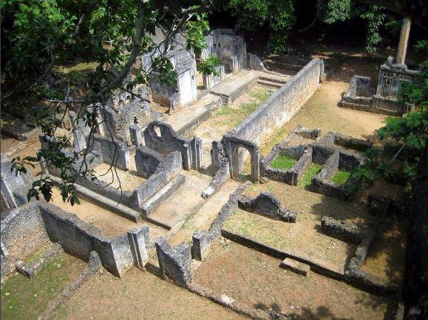 Ruins Of Gedi