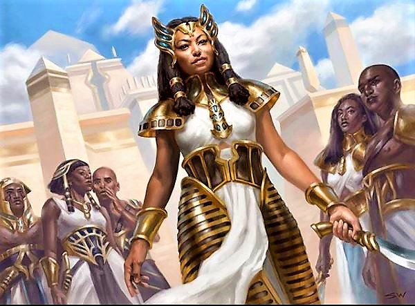 Queen Of Nubia & Egypt: Naparaye