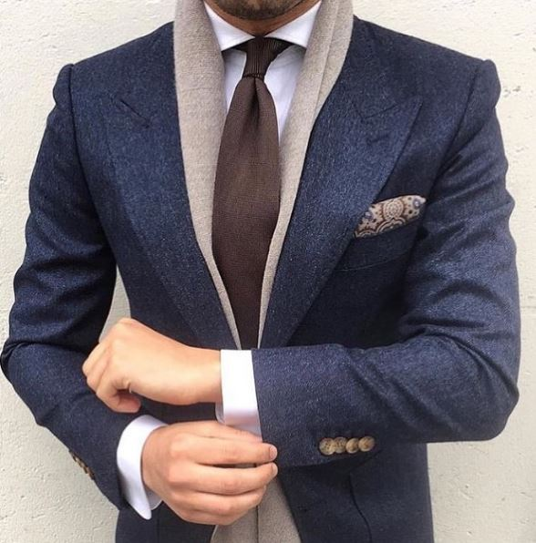 Men's Blue Suits