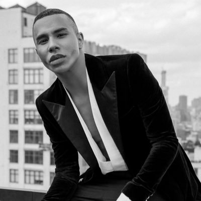 BALMAIN : OLIVIER ROUSTEING'S LATEST SHOW by Loic Prigent