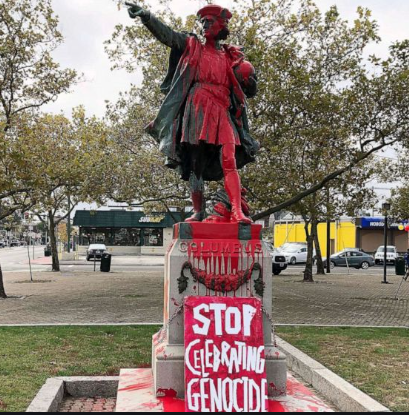 Statues of Christopher Columbus being vandalized across America
