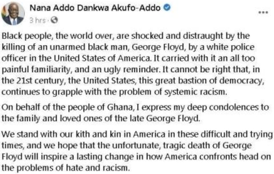 The President of Ghana