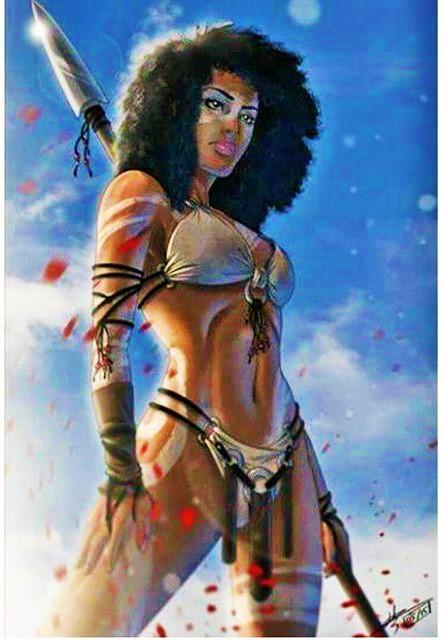 Queen Nzinga warrior nubian queen